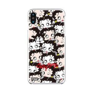 iPhone XS iPhone X ケース ベティ・ブープ ベティー ブープ Betty Boop ベティちゃん iPhoneXS iPhoneX クリアケース past and present 【Gizm】|white-bang