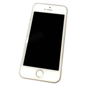 【中古】 iPhone 5s 16GB ゴールド 国内モデル SIMフリー 動作確認済み 本体のみ【...