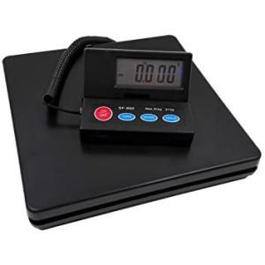 2g単位で、最大50kgまで計量可能、隔測式 デジタル台はかり スケール 電子秤 風袋機能、オートオフ機能 (50kg計測)|white-daisy