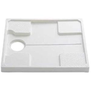 TOTO 洗濯機パン 740mmサイズ (排水口位置:センター) PWP740N2W (ホワイト 740mmサイズ) white-daisy