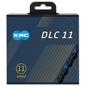 KMC X11 DLC チェーン 11S/11速/11スピード 用 (ブルー) [並行輸入品] white-daisy