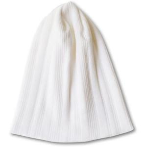 Nakota (ナコタ) マルチガーゼリブ クールマックス ワッチキャップ 帽子 日本製 COOLMAX ニット帽 夏 サマー (ホワイト(85))|white-daisy
