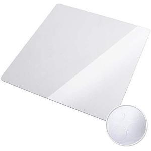 [Hirano] 冷蔵庫 マット フローリング 床 傷防止 高硬度ポリカーボネート 透明[ゼロキーパー] 500Lクラス (透明 Mサイズ)|white-daisy