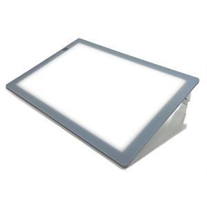 トライテック A3 LED 薄型トレビュアー 薄型8mm 10段階調光 トレース台 (3段階傾斜) A3-400|white-daisy