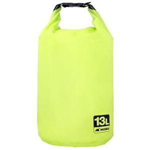 MOBO 撥水バッグ ライトウェイトスタッフバッグ 超軽量 薄型 撥水 13L / グリーン AM-BSB-GN13 (ライトグリーン 13L)|white-daisy