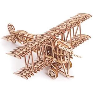 Wood Trick ウッドトリック 飛行機 3Dウッドパズル|white-daisy
