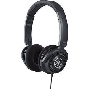 ヤマハ YAMAHA ヘッドホン ブラック HPH-150B 電子楽器の音色を忠実に再現 (ブラック) white-daisy