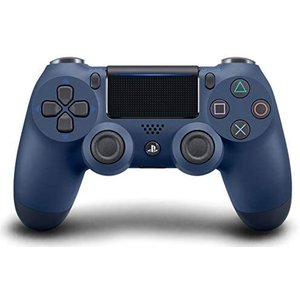 DualShock 4 Wireless Controller for PlayStation 4 - Midnight Blue|white-daisy