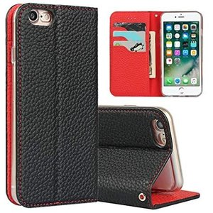 Sailortech iphone SE (第2世代) ケース手帳型 iPhone8 カバー iPhone7 (黒 iPhone 7/8)|white-daisy