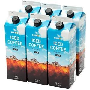 ドトールコーヒー LC154 無糖アイスコーヒー 1000ml×6本|white-daisy