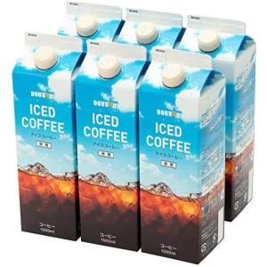 ドトールコーヒー LB144 微糖コーヒー 1000ml×6箱|white-daisy