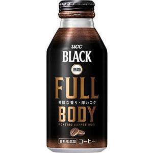 UCC BLACK無糖 Full Body 缶コーヒー 375g ×24本 (375g ×24本)|white-daisy