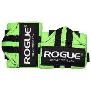 ROGUE FITNESS ローグ リストラップ 24インチ CrossFit クロスフィット フリーウェイト (ライムグリーン×ブラック) white-daisy