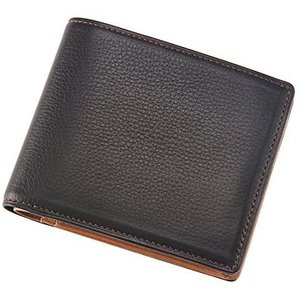 キプリス二つ折り財布(BOX小銭入れ付き札入)■シルキーキップ 1719 (ブラック)|white-daisy