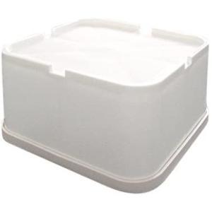 洗濯機用かさ上げ台 しっかりベース SB-160 1セット4個入り 防振タイプ (1セット) white-daisy