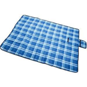 レジャーシート 厚手 起毛加工 暖かい 折りたたみ 手触り素敵 200 x 150 cm 4−6人用 ピクニックマット 防水 洗える 軽量(ブルー) white-daisy