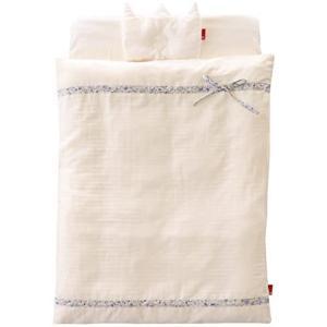 サンデシカ はじめてママのお悩みを解決する ミニ布団5点セット ラベンダー 日本製 1412-8888-50 (ラベンダー) white-daisy
