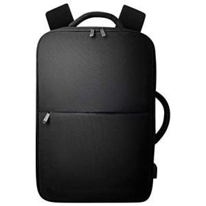 GLEVIO(グレヴィオ) ビジネスリュック メンズ リュック バックパック 大容量 USB 拡張機能付き (ブラック Free Size)|white-daisy