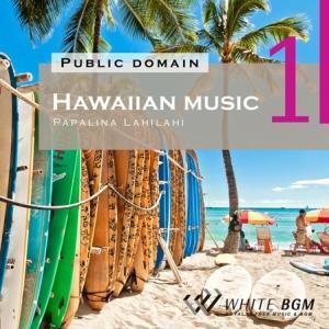 BGM CD ヒーリング 著作権フリー 店内 音楽 <名曲>Hawaiian music1 -Papalina Lahilahi-(4019)|whitebgm