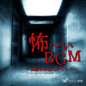 BGM CD イベント 著作権フリー 店内 音楽 怖ーいBGM -真夜中のおんがくしつ-(4077)
