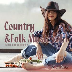 BGM CD 著作権フリー 店内 音楽 Country&Folk Music vol.1(4096)|whitebgm