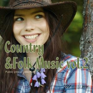 BGM CD 著作権フリー 店内 音楽 Country&Folk Music vol.2(4100)|whitebgm
