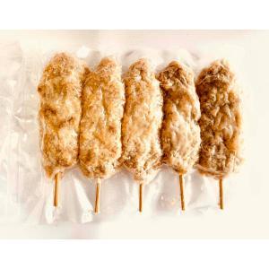 【冷凍】グルテンミートの串カツ 5本入り|whitehole