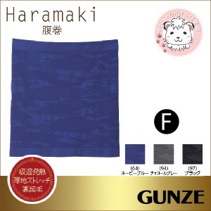 腹巻 メンズ グンゼ GUNZE  ウエストウォーマー Haramaki 腹巻き フリーサイズ HO...