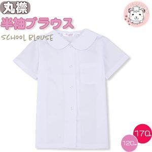 スクール シャツ 半袖 丸衿 ブラウス 120cm-170cm|whitelionclub