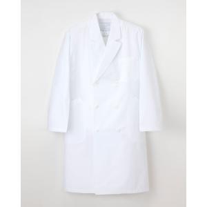 【ナガイレーベン】EM-3005【メンズ ダブル診察衣】 whiteroad