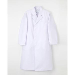 白衣 男性白衣 ナガイレーベン 診察衣 男性用白衣 EP-110 メンズ白衣 男子シングル診察衣 whiteroad