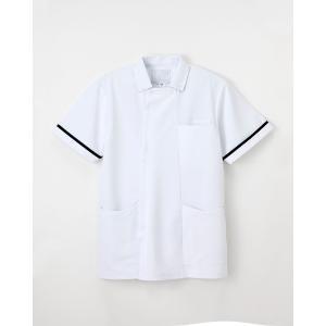【ナガイレーベン】HO-1632【ナースウェア 男子上衣 メンズ】 whiteroad