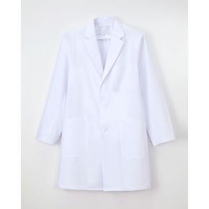 【ナガイレーベン】KEX-5180【メンズ診察衣 シングル 医療用 白衣 男性用】 2018年新作商品 whiteroad