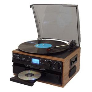 レコード/CD/ラジオ&カセット搭載多機能プレーヤー RTC-29