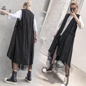 ●商品状態:新品 ●素 材:綿混 ●カラー:ブラック ●サイズ: 着丈:97-110cm 肩幅35c...