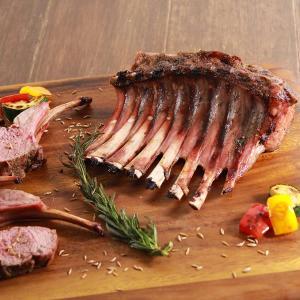 ラム肉 ラムフレンチラック ハーフサイズ 600g ニュージーランド産 仔羊肉 ハラル ハラール -SKU402