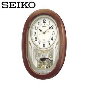 セイコー ウエーブシンフォニー 壁掛け時計 電波掛時計 アナログ おしゃれ 掛け時計 掛時計 かけどけい 電波時計 SEIKO AM234H Wave Symphony|wide02