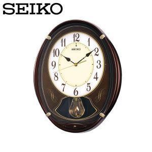 セイコー ウエーブシンフォニー 壁掛け時計 電波掛時計 アナログ おしゃれ 掛け時計 掛時計 かけどけい 電波時計 SEIKO AM248B アミューズ時計 Wave Symphony|wide02