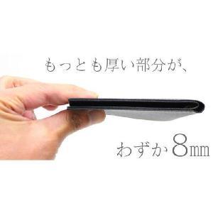FRUH フリュー メンズ 薄い財布 二つ折り スマートショートウォレット2 牛革|wide02|05