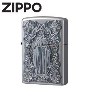 ライター オイルライター ZIPPO ジッポ ジッポー スリムサイズ有り 真鍮 ゴールド 金 ディープエッチング加工 アラベスクマリア wide02