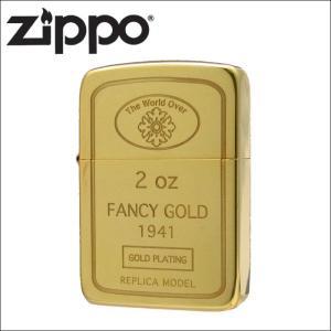 Zippo ジッポ ジッポー ライター 1941インゴット・24金メッキの商品画像|ナビ
