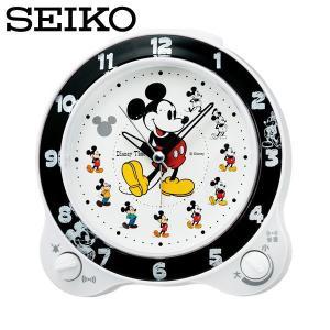 セイコー セイコークロック 置き時計 置時計 アナログ 目覚まし時計 子供部屋用 子供用 FD461W ミッキー ディズニータイム SEIKO CLOCK|wide02