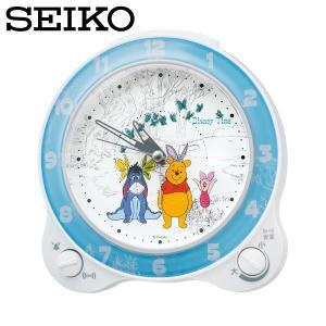 セイコー セイコークロック 置き時計 置時計 アナログ 目覚まし時計 子供部屋用 子供用 FD462W くまのプーさん ディズニータイム SEIKO CLOCK|wide02