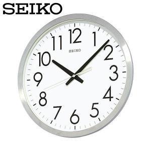 壁掛け時計/とけい/かべかけどけい/セイコー SEIKO 掛け時計 KH409S 時計 SEIKO CLOCK セイコークロック オフィス 金属枠|wide02