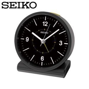 セイコー セイコークロック 置き時計 電波時計 アナログ 電波目覚まし時計 置時計 KR328K 黒 SEIKO CLOCK|wide02