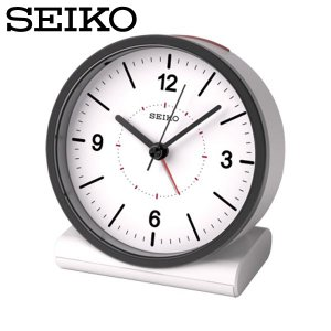 セイコー セイコークロック 置き時計 電波時計 アナログ 電波目覚まし時計 置時計 KR328W 白 SEIKO CLOCK|wide02