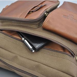 帆布バッグ メンズ ショルダーバッグ 本革 レザー ばっぐ 鞄 カバン ミラグロ AE-BC-781|wide02|03