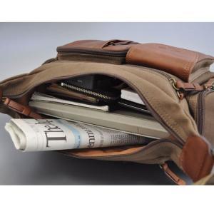 帆布バッグ メンズ ショルダーバッグ 本革 レザー ばっぐ 鞄 カバン ミラグロ AE-BC-781|wide02|04