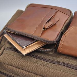 帆布バッグ メンズ ショルダーバッグ 本革 レザー ばっぐ 鞄 カバン ミラグロ AE-BC-781|wide02|05