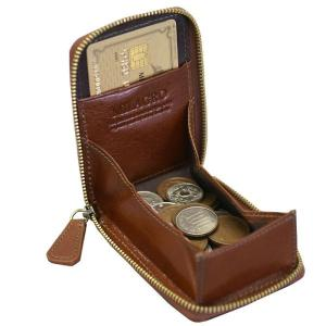 メンズ コインケース ボックス型小銭入れ カード入る 本牛革 ミラグロ CA-S-515|wide02|02